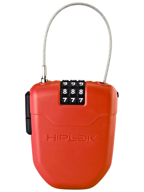 Hiplok FX - Antivol vélo - avec réflecteur rouge